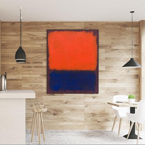 Mark Rothko, Nº14,1960,quadro,canvas,poster,replica,gravura,reprodução,canvas,fototela,cópia,tela,pintura