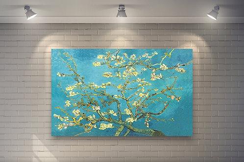 vincent, van gogh, amendoeira em flor, flor de amendoeira, poster, gravura, reprodução, canvas, replica, releitura