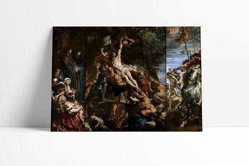 Rubens, A Elevação da Cruz, quadro, canvas,poster,replica,gravura,reprodução,fototela,tela,pintura,fine art