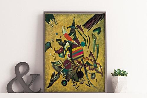 wassily Kandinsky,Points,Pontos,linha,line,plano,1920,poster,gravura,reprodução,canvas,replica,releitura,fototela,tela,pintur