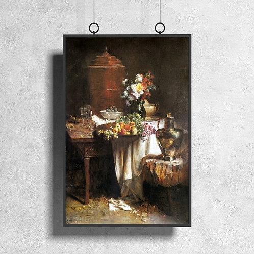 Pedro Alexandrino,A Copa,artista,brasileiro,quadro,poster,gravura,canvas,replica,reprodução, fototela,tela,pintura