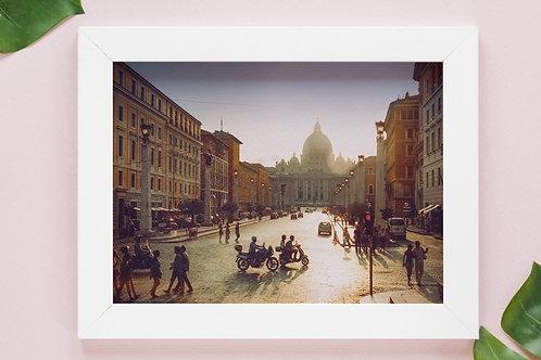 fotografia,Itália,Hotel della Conciliazione,viagem,quadro,canvas,poster,replica,gravura,reprodução,fototela,tela,pintura