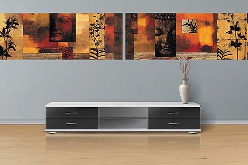 conjunto de quadros abstratos, telas abstratas para sala,quadro, poster, gravura, reprodução, canvas, replica, tela