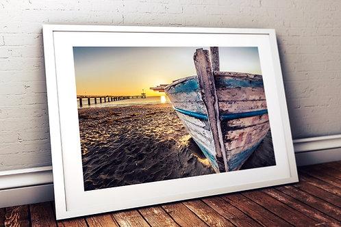 fotografia,barco,mar,marinha,paisagem,pôr do sol,viagem,quadro,canvas,poster,replica,gravura,reprodução,fototela,tela,pintura
