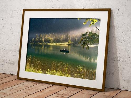 Paisagem,Lago,Barco,árvores,rio,mar,fotografia,poster,gravura,reprodução,réplica,canvas,tela,pintura,fine art,fototela