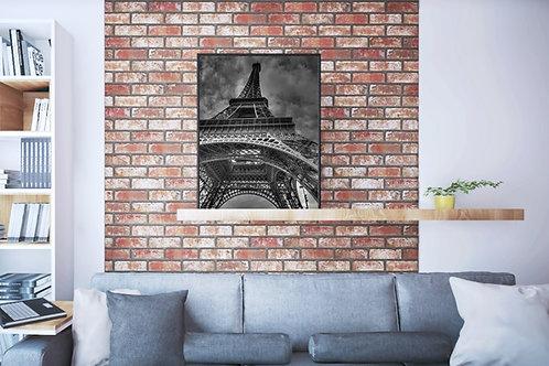 fotografia,Torre Eiffel,Eiffel Tower,Preto e branco,poster,gravura,reprodução,réplica,canvas,tela,pintura,fine art