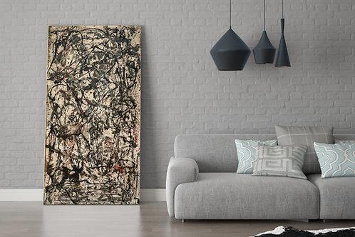 Jackson Pollock, Floresta encantada,releitura,quadro,poster,replica,canvas,gravura,reprodução,tela,fototela