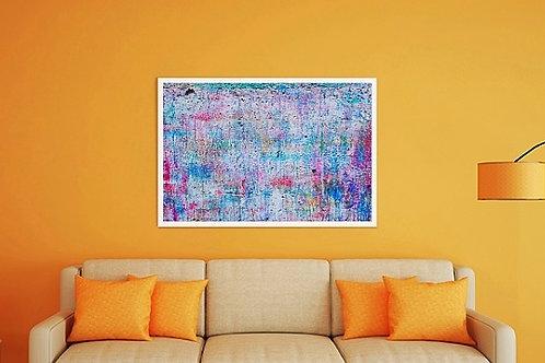 quadro colorido para sala de estar, jantar, quarto, quadro, poster, gravura, réplica, reprodução, canvas, tela, pintura