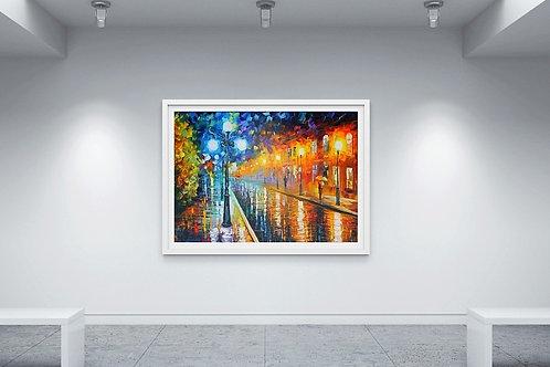 Quadro Decorativo Colorido, quadro, poster, replica, gravura, canvas, reprodução, tela, releitura