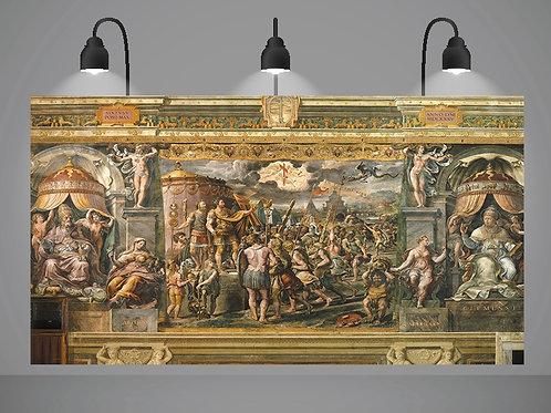 Rafael,Raphael,Urbino,Sanzio,Visão da Cruz,quadro,poster,replica,canvas,gravura,reprodução,tela,fine art,giclee,pintura