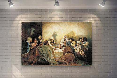 Religioso,Santa Ceia, Última Ceia,quadro,poster,gravura,replica,reprodução,canvas,fototela,tela,pintura,releitura