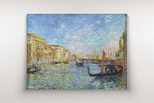 Renoir,Grande Canal, Veneza,quadro,poster,replica,canvas,gravura,reprodução,tela,fototela,pintura
