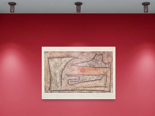 Paul Klee, Olho Vermelho, quadro, reprodução, poster, canvas, gravura, replica, fototela, tela, pintura