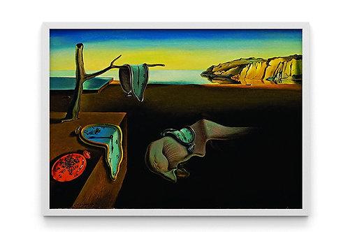Salvador Dali, A Persistência da Memória, quadro, reprodução, poster, canvas, gravura,replica,fototela,tela,pintura,releitura