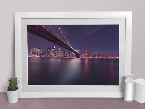 Fotografia,Ponte do Brooklyn, Nova York,quadro,canvas,poster,replica,gravura,reprodução,fototela,tel