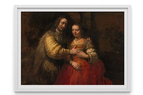 rembrandt, Noiva Judia, quadro, canvas,poster,replica,gravura,reprodução,fototela,tela,pintura,fine art