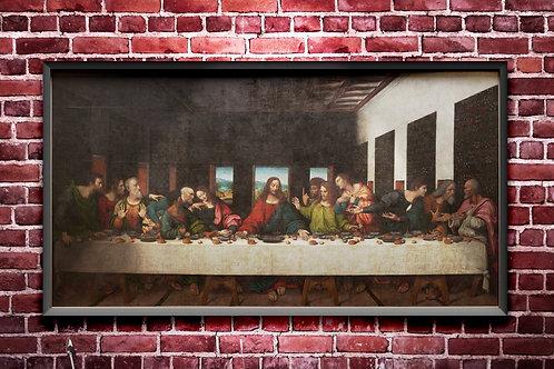 giampietrino, santa ceia, ultima ceia, quadro, poster, gravura, tela, canvas, replica, reprodução, releitura, pintura cristã
