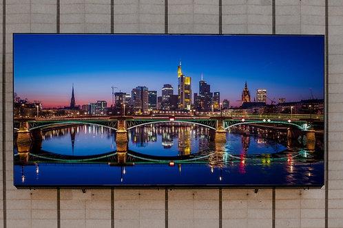 Ponte Frankurt,quadros fotográficos,para,sala,quadros para parede,quadros decorativos ponto turístico,quadro,poster,fotografi