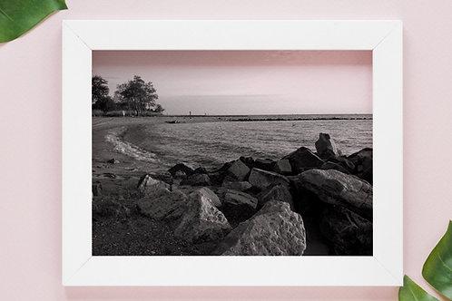 preto e branco,praia,Mar,pedras,fotografia,quadro,canvas,poster,replica,gravura,reprodução,fototela,tel
