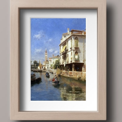 Rubens Santoro, Canale della Guerra, Venice, canal da guerra, veneza