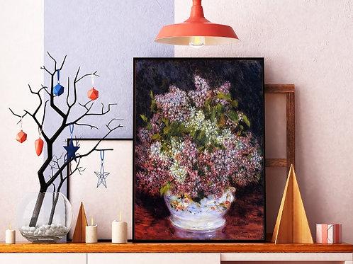 Renoir, Bouquet de Flores,quadro,poster,replica,canvas,gravura,reprodução,tela,fototela,pintura
