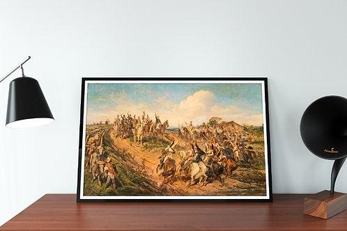 Pedro Américo,Independência ou Morte,quadro, poster, replica, gravura, canvas, reprodução, tela,fototela,pintura