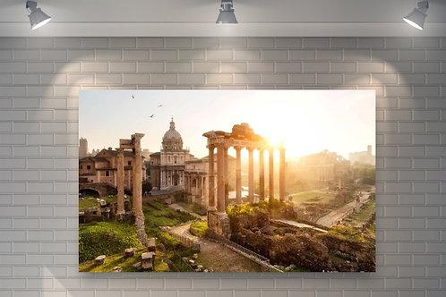 Fórum Romano,Itália,quadros fotográficos,para,sala,quadros para parede,quadros decorativos,ponto turístico,fototela,fotografi