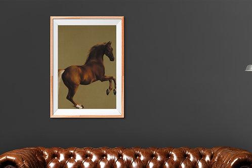 George Stubbs, Whistlejacket, cavalo de corrida, cavalo, quadro, poster, replica, canvas, gravura, reprodução, tela, fototela