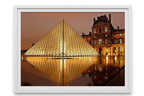 fotografia,Pirâmide,Museu,Louvre,Paris,França,quadro,canvas,poster,replica,gravura,reprodução,fototela,tel