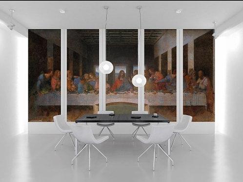 leonardo da vinci, santa ceia, última ceia, last supper, quadros divididos, conjunto de quadros, quadros decorativos dividido