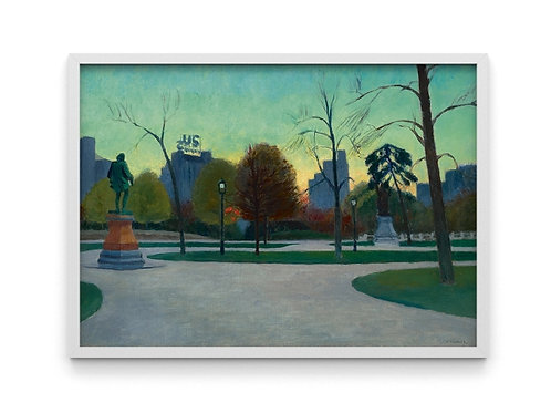 Edward Hopper,Shakespeare ao Entardecer,realismo,poster,gravura,reprodução,réplica,canvas,releitura,tela,pintura