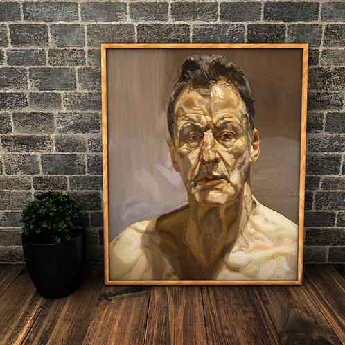 Auto retrato,quadro,canvas,poster,replica,gravura,reprodução,canvas,fototela,cópia,tela,pintura