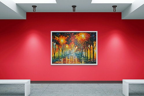 Quadro, Leonid Afremov, Espatulado, Colorido, quadro decorativo, poster, replica, gravura, canvas, reprodução, tela,releitura