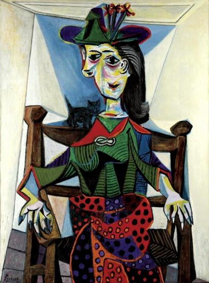 Picasso - Dora Maar com Gato