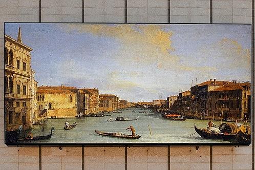 canaletto, Vista do Grande Canal, quadro de veneza,poster de veneza,quadro,poster, gravura, reprodução, canvas, replica, tela