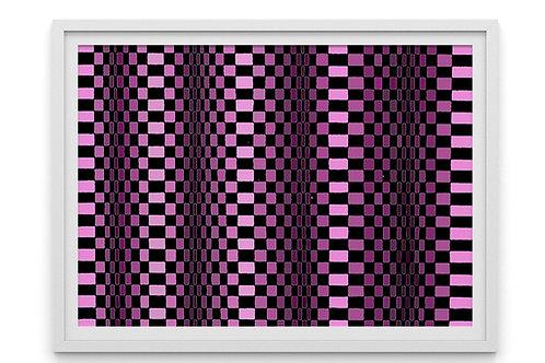 Quadro, Poster, Gravura,3d, Op Art, Arte Ótica, cor,ilusão ótica,Minimalista,Canvas,colorido,abstrato,decorativo,fototela