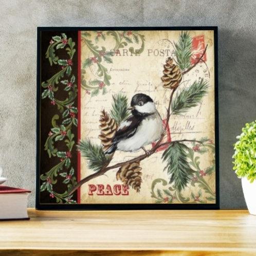 quadro passarinho, gravura passarinho, poster passarinho,tela decorativa, quadro, poster, gravura, reprodução, canvas,replica