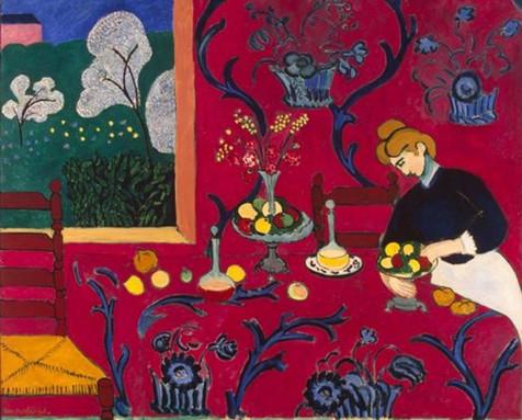 Matisse - Harmonia em Vermelho