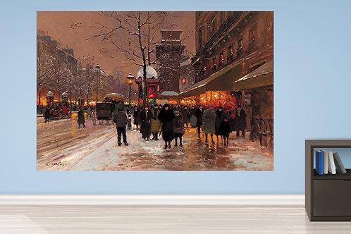 Edouard-Léon Cortès, Paris, quadro, poster, gravura, replica, canvas, reprodução, gravura, tela, releitura