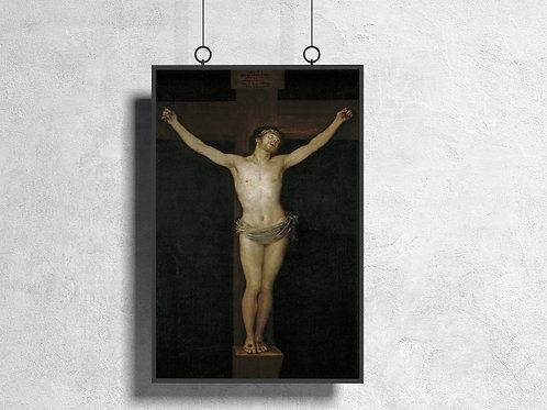 Goya, Cristo Crucificado,quadro,poster,gravura,replica,canvas,reprodução,fototela,pintura,tela