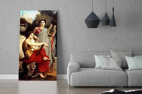 Bouguereau,Arte e literatura,art and literature,quadro, poster, replica, gravura, canvas, reprodução, tela,fototela,pintura
