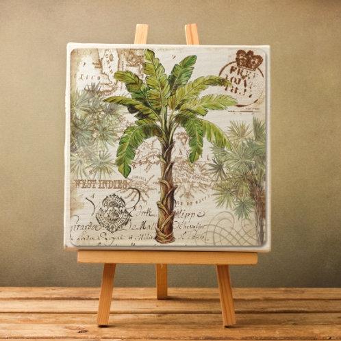 árvore, palmeira, coqueiro, quadro decorativo, tela decorativa, poster, gravura, reprodução, canvas, replica, releitura, tela