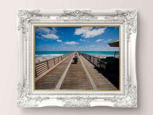 Doca,praia,Mar,fotografia,paisagem,poster,gravura,reprodução,réplica,canvas,tela,pintura,fine art,fototela