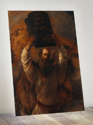 rembrandt, Moisés com os Dez Mandamentos, Moisés quebrando as Tábuas da Lei, quadro, canvas,poster,replica,gravura,reproduçao