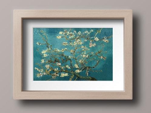 van gogh, almond blossom, flor de amendoeira, ramo de amendoeira, amendoeira em flor,poster,gravura,reprodução,canvas,replica