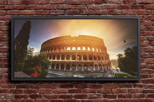 Coliseu,Roma,quadros fotográficos,para,sala,quadros para parede,ponto turístico