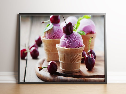 quadro,poster,gravura,canvas,foto,tela,fotografia,cozinha,Alimento,Sorvete,sorveteria,sala,jantar,varanda gourmet
