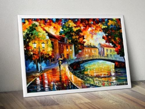 Quadro Colorido para Sala, quadro, poster, replica, gravura, canvas, reprodução, tela, releitura
