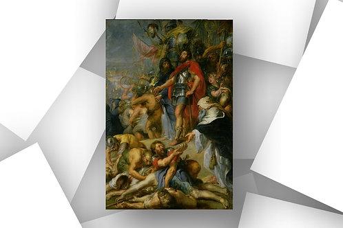 Peter Paul Rubens,O Triunfo de Judas Macabeu,Vitória,quadro,reprodução,poster,canvas,gravura,replica,fototela,tela,pintura