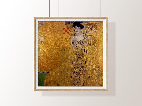 Gustav Klimt - Retrato de Adele Bloch-Bauer I